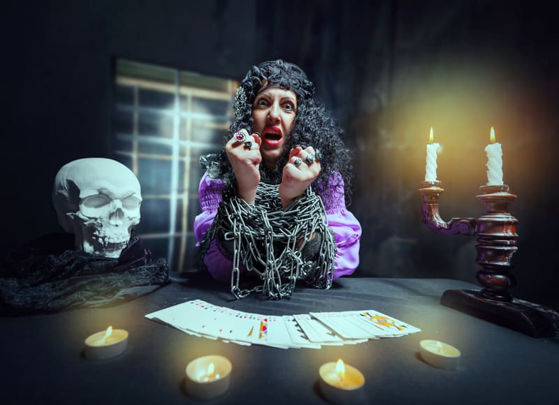 Psychic readings are fun.