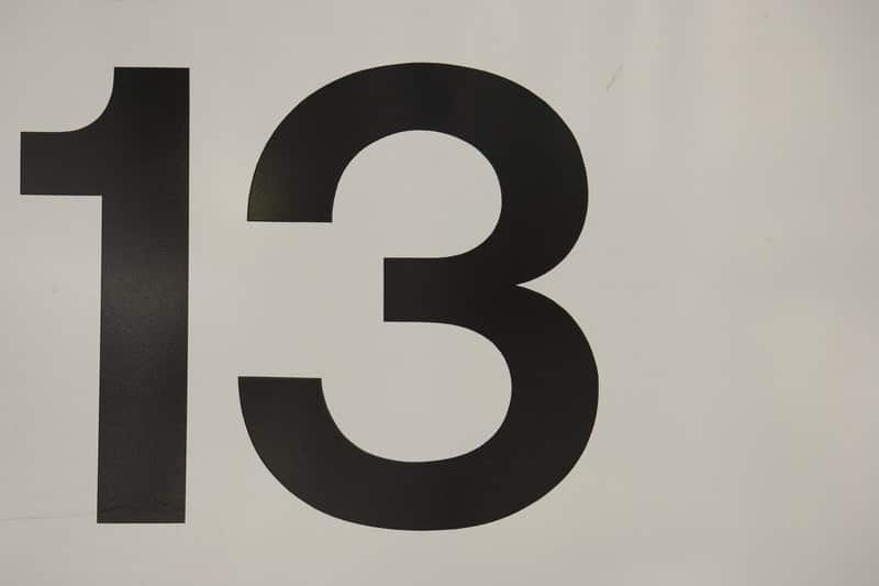 what 13 means
