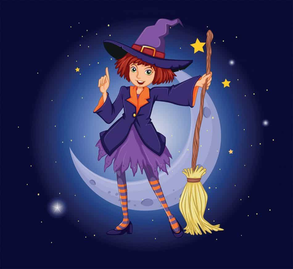 good and bad witch