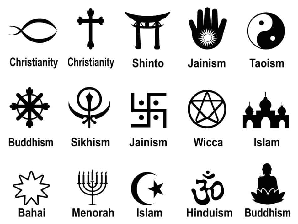 The wiccan religion symbol