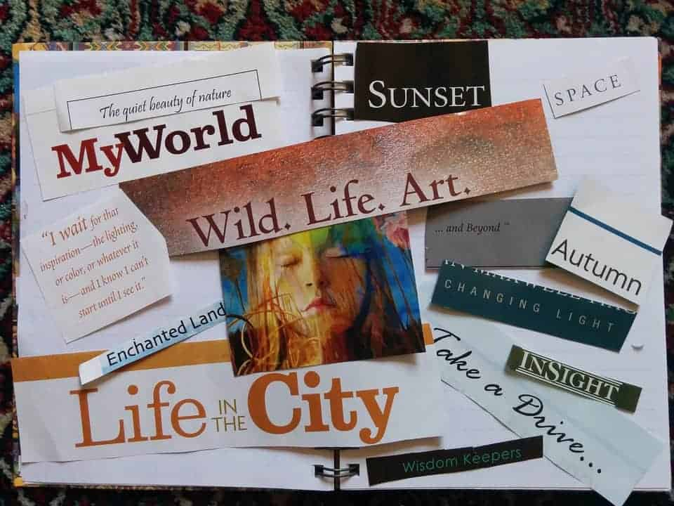 Your vision board is all about you