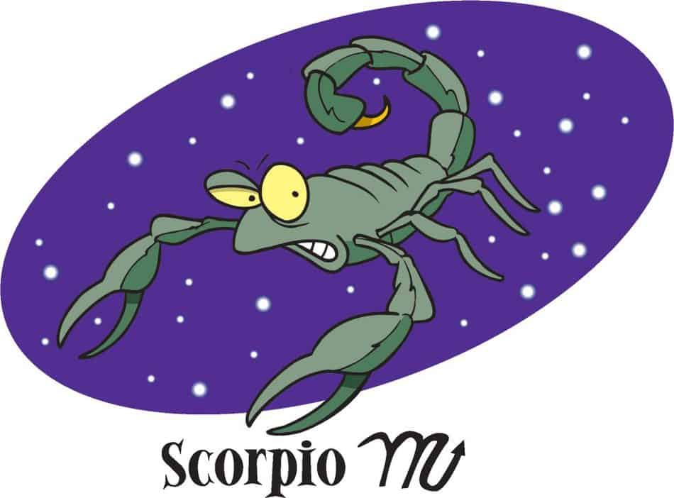 Get anger expressed by scorpio