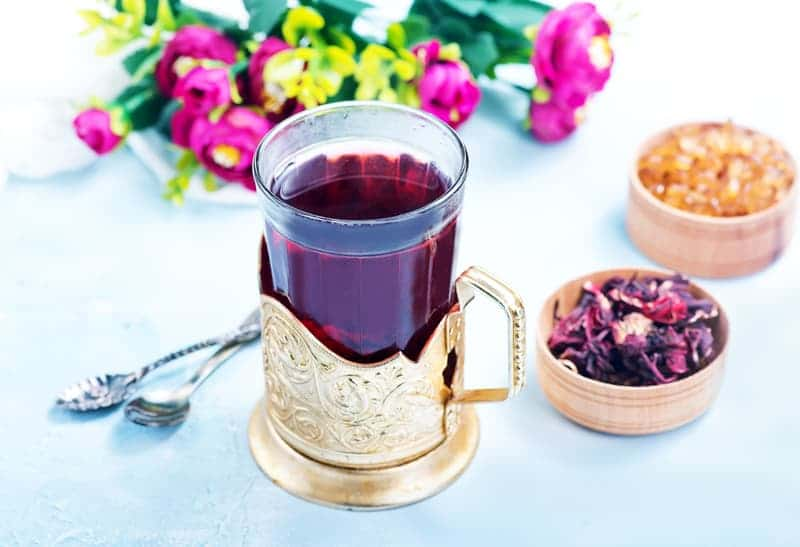 Hibiscus flowers with high protein