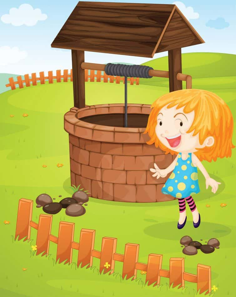 Woman at the Well with jesus telling us
