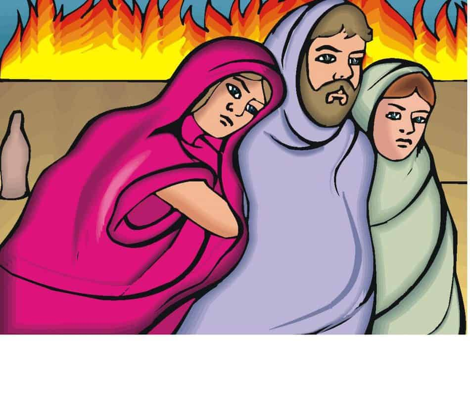 Sodom and Gomorrah and going away