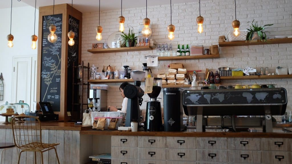 Coffee shops for love and more