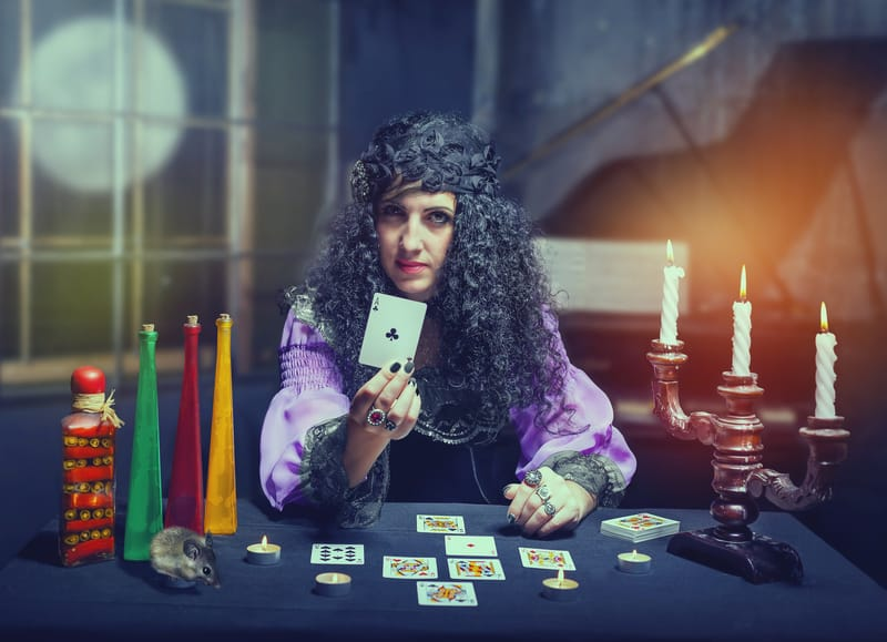 What does a psychic medium do